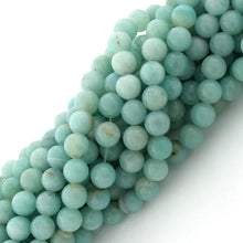 Load image into Gallery viewer, 6mm Amazonite Gem Stone Beads