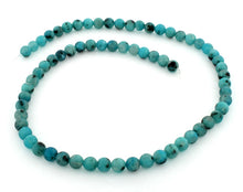 Load image into Gallery viewer, 6mm Aqua Quartz Kiwi Turquoise Round Gem Stone Beads