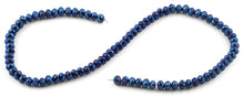 Load image into Gallery viewer, 6mm Blue Faceted Rondelle Crystal Beads