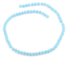 Load image into Gallery viewer, 6mm Blue Faceted Round Crystal Beads