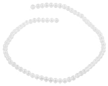 Load image into Gallery viewer, 6mm Clear Faceted Round Crystal Beads
