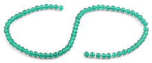 Load image into Gallery viewer, 6mm Dark Green Faceted Round Crystal Beads