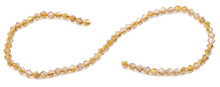 Load image into Gallery viewer, 6mm Faceted Bicone Topaz Crystal Beads