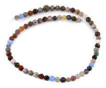 Load image into Gallery viewer, 6mm Faceted Multi-Stones Gem Stone Beads