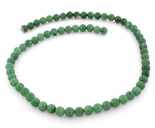 Load image into Gallery viewer, 6mm Green Aventurine Round Gem Stone Beads