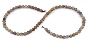 6mm Labradorite Faceted Gem Stone Beads