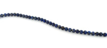 Load image into Gallery viewer, 6mm Lapis Lazuri Round Gem Stone Beads