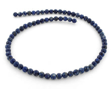 Load image into Gallery viewer, 6mm Lapis Round Gem Stone Beads