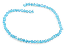 Load image into Gallery viewer, 6mm Ocean Blue Round Faceted Crystal Beads