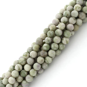 6mm Peace Stone Round Gem Stone Beads