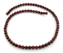 Load image into Gallery viewer, 6mm Round Mahogany Obsidian Gem Stone Beads