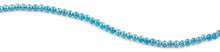 Load image into Gallery viewer, 6mm Turquoise Round Faceted Crystal Beads