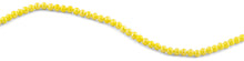 Load image into Gallery viewer, 6mm Yellow Round Faceted Crystal Beads