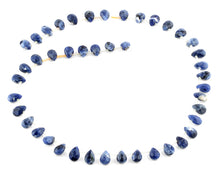 Load image into Gallery viewer, 6x9MM Sodalite Tear Drop Gemstone Beads