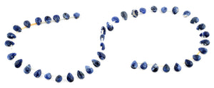 6x9MM Sodalite Tear Drop Gemstone Beads