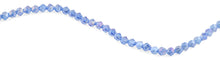 Load image into Gallery viewer, 8mm Blue Twist Faceted Crystal Beads