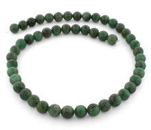 Load image into Gallery viewer, 8mm Green Aventurine Round Gem Stone Beads