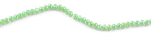 Load image into Gallery viewer, 8mm Green Faceted Rondelle Crystal Beads