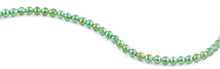 Load image into Gallery viewer, 8mm Green Faceted Round Crystal Beads