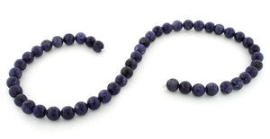 8mm Lapis Jasper Round Gem Stone Beads