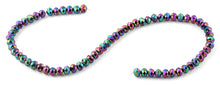 Load image into Gallery viewer, 8mm Rainbow Faceted Rondelle Crystal Beads