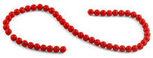 Load image into Gallery viewer, 8mm Red Faceted Round Crystal Beads