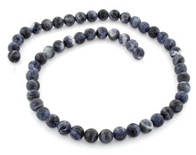 Load image into Gallery viewer, 8mm Round Sodalite Gem Stone Beads