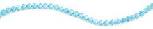 Load image into Gallery viewer, 8mm Teal Twist Faceted Crystal Beads
