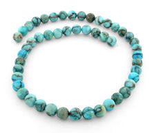 Load image into Gallery viewer, 8mm Turquoise Jasper Stone Round Gem Stone Beads
