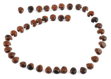Load image into Gallery viewer, 8x10MM Mahogany Pear Gemstone Beads