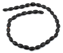 Load image into Gallery viewer, 8x12MM Black Onyx Oval Gemstone Beads
