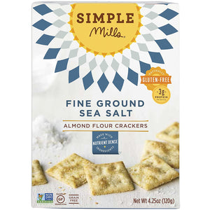 Simple Mills Almond Flour Crackers - Sea Salt, 4.25 oz