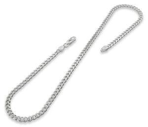 Sterling Silver Curb Chain 5MM