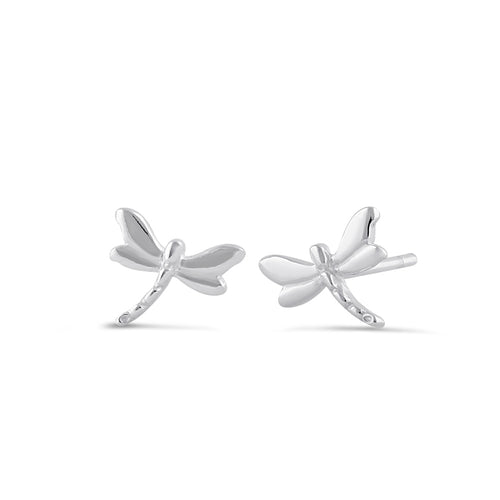 Sterling Silver Macromia Stud Earrings