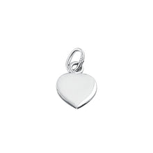 Load image into Gallery viewer, Sterling Silver Small Oxidized Filigree Heart Pendant