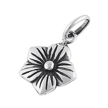 Load image into Gallery viewer, Sterling Silver Plumeria Pendant