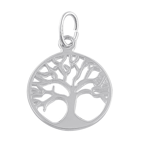 Sterling Silver Autum Tree of Life Pendant