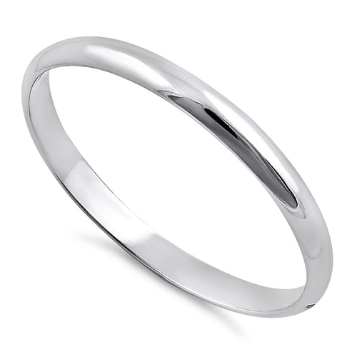Solid 14K White Gold 2mm Wedding Band