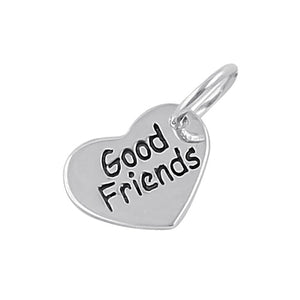 "Sterling Silver ""Good Friends"" Pendant"
