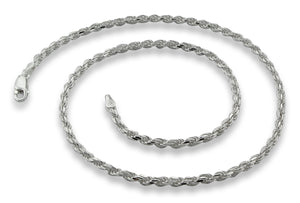 Sterling Silver Rope Chain 2.8MM