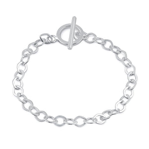 Sterling Silver Linked Bracelet