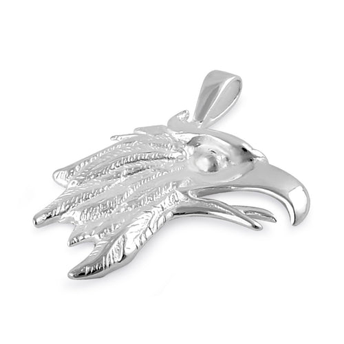 Sterling Silver Eagle Head Pendant