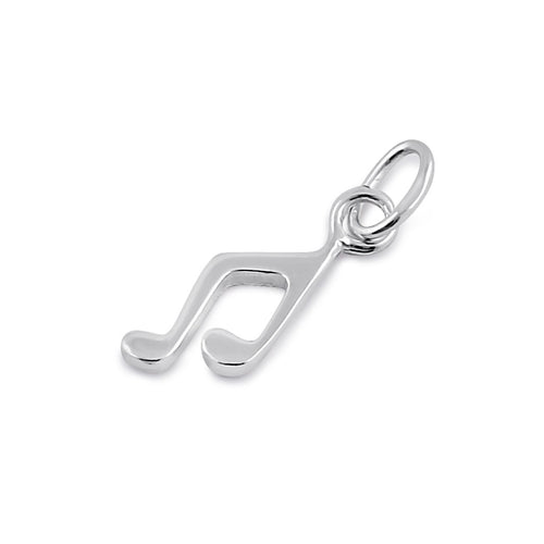 Sterling Silver Music Symbol Pendant