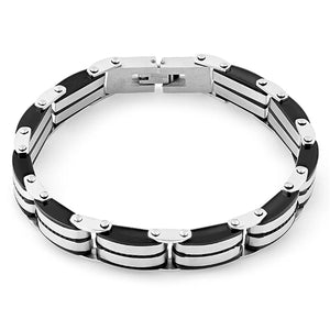 Stainless Steel Black Bracelet