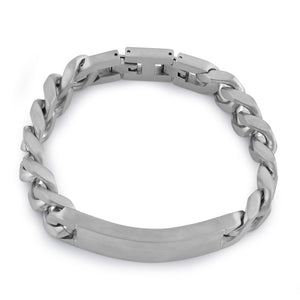 Stainless Steel Thick Curb Bracelet