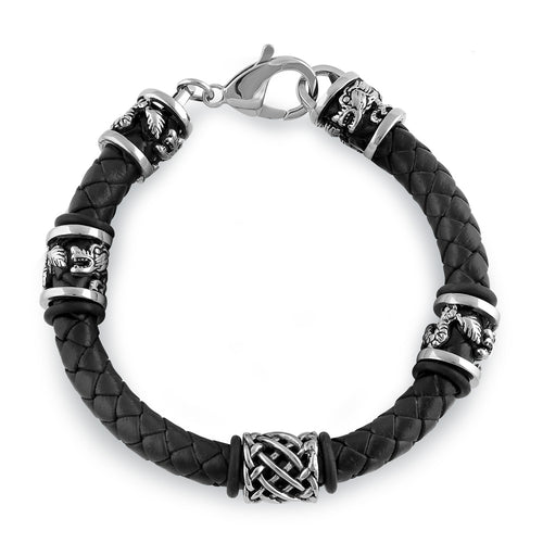 Stainless Steel Viking Bracelet