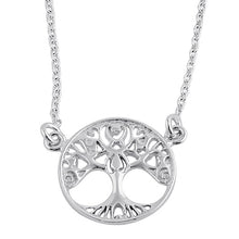 Load image into Gallery viewer, Sterling Silver Tree of Life Female Necklace