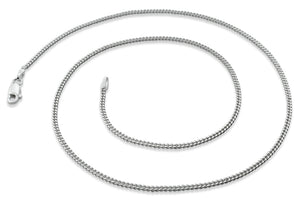 Sterling Silver Curb Chains 1.7MM