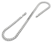 "Load image into Gallery viewer, Sterling Silver 8"" Curb Chain Bracelet 5.6mm"