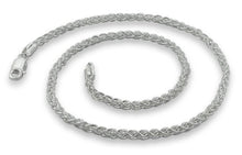 "Load image into Gallery viewer, Sterling Silver 8"" Spiga Chain Bracelet 3.1 mm"